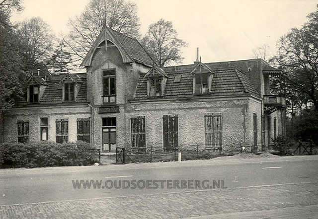 Banningstraat - pension Nellystein 1950