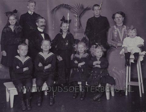 de familie scheffer die woonde aan de schoolweg