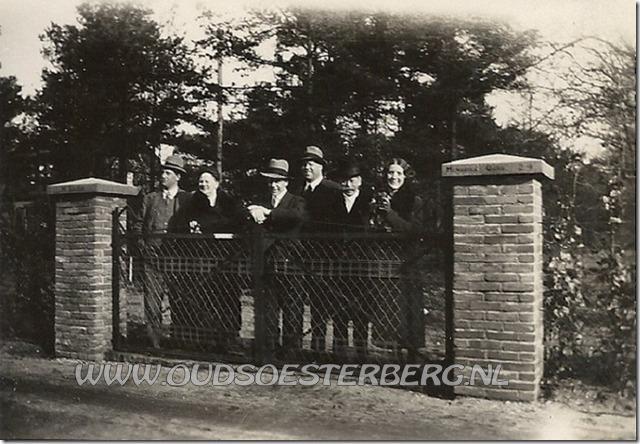 de familie scheffer die woonde aan de schoolweg te soesterberg